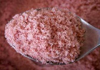 Veredeltes Salz